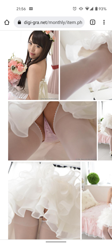 ロングウエディングドレスの撮影要望